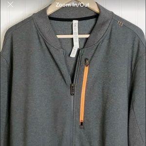 Lululemon men's xxl full front zip athletic jacket